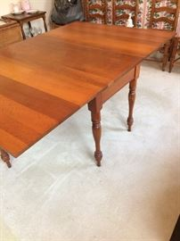 One of several drop leaf tables