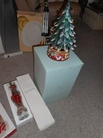 Lennox and PartyLite Xmas items