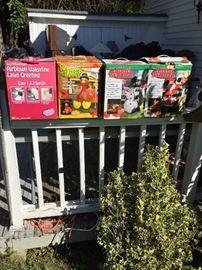 Seasonal outdoor items
