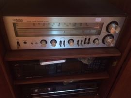 Technics SA 400 Stereo Receiver