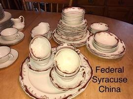 Federal Syracuse China