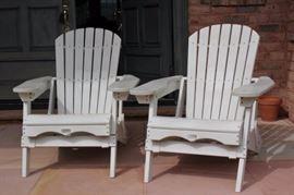 Pair of Adirondack Chairs