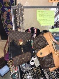 Designer Bags including Louis Vuitton