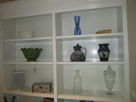 Quimper and other art pottery