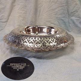 "Tiffany & Co. STERLING Centerpiece, 16"" diameter, 77.74ozt"