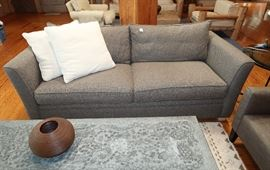 Gray tweed sofa, Storehouse Furniture