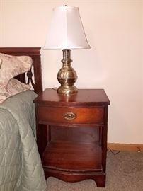 Bassett furniture Bedroom set (Dresser, twin bed, nightstand)