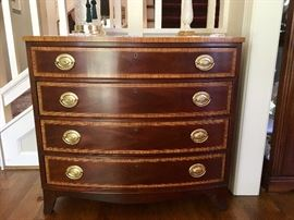 Councill bowfront 4 drawer chest
