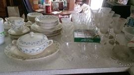 Dishes, Candlewick, and Boopie