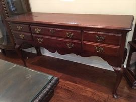 Side Board Table/ Buffet with 3 Drawers