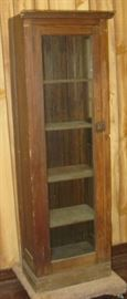 Oak Single Door Cabinet