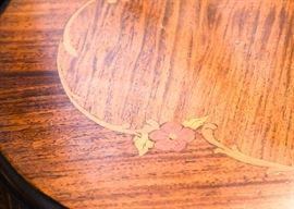 Antique Carved Writing Desk