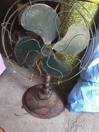 Antique fan ..works well!