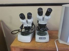 micro scopes (approx 25 of them)
