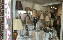 More lamps with shades!