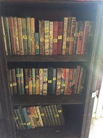 Vintage books- Barbie, Nancy Drew, Hardy Boys, Cherry Ames