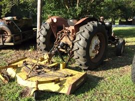 International Harvester 424 diesel tractor. Implement sold separately. Not running but was used recently.  Starting bid $1500.00