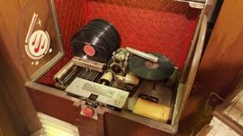 Vintage 1940s era AMI jukebox, works and plays, but selection components are not working