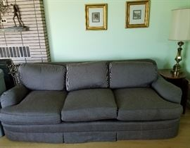Goose down couch. Manufacturer unknown, asking $69.00.