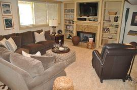 Fabulous lower level family room!!