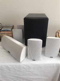 Definitive Technology Surround System and Subwoofer