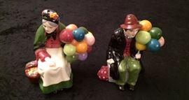 Balloon Sellers Figurines