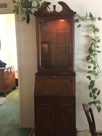 Ben Franklin Collection secretary hutch $400