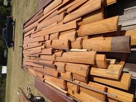 Log siding. In very good condition.
