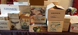Vintage Kromex still in boxes