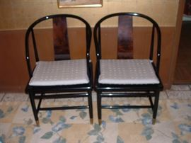 Pair of Henredon chairs