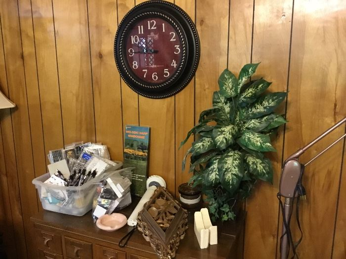 Clock and miscellaneous