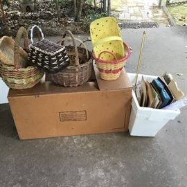 Baskets & boxes yet to open