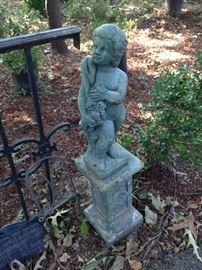 Another garden statue
