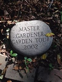 Mrs. Swinney's yard was on the Master Gardeners' Tour in 2002. We look forward to seeing you.