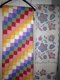 Fun, colorful quilts