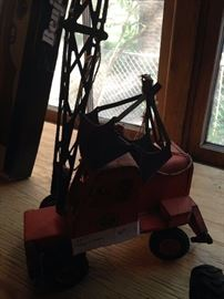 Vintage metal crane