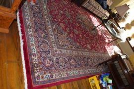 Large 24 x 32 Iranian rug