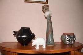 Pottery, Zuni Bear