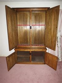 Custom Hand made 12 Gun Locking Cabinet