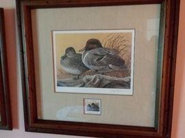 Hayden signed duck stamp prints $120