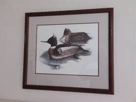 One of several Larry Hayden Signed Duck Prints $95 each