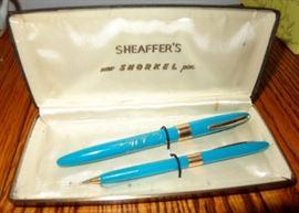 ED SULLIVAN SHOW SHEAFFER'S PEN & PENCIL SET MIB