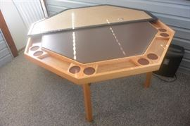 Never used folding game table