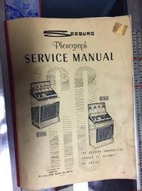 Juke box manual