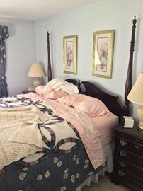 4 post king bedroom set