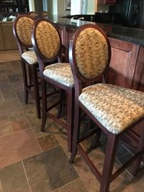 Set of 5 barstools