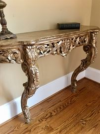 Wall mount console table