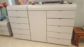"Dove grey dresser - $175  6' x 46"""
