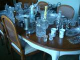 view of Davis Co. Dining Table, Glassware and more!