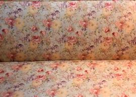 2-Piece Floral Sectional Sofa